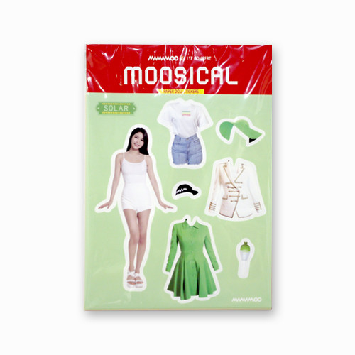 [MAMAMOO] PAPER DOLL STICKER