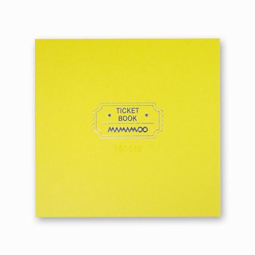 [MAMAMOO]正式TICKET BOOK