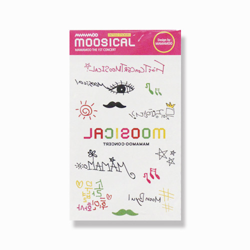 [MAMAMOO] MOOSICAL TATTOO STICKER