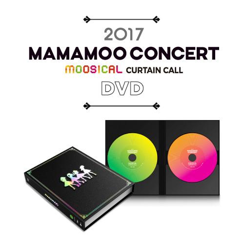 [MAMAMOO] MOOSICAL CURTAIN CALL DVD