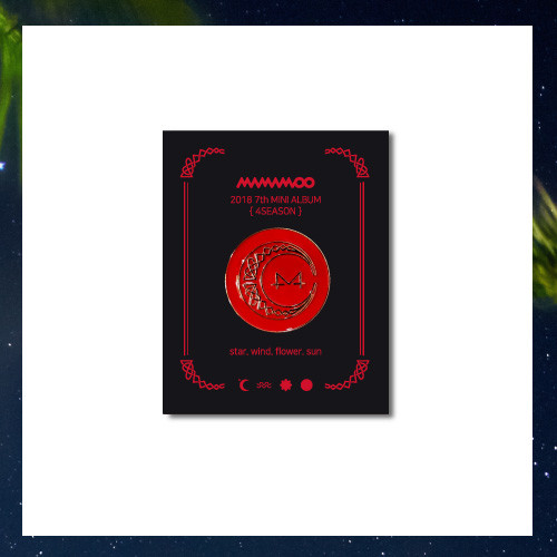 [MAMAMOO] OFFICIAL BADGE REDMOON