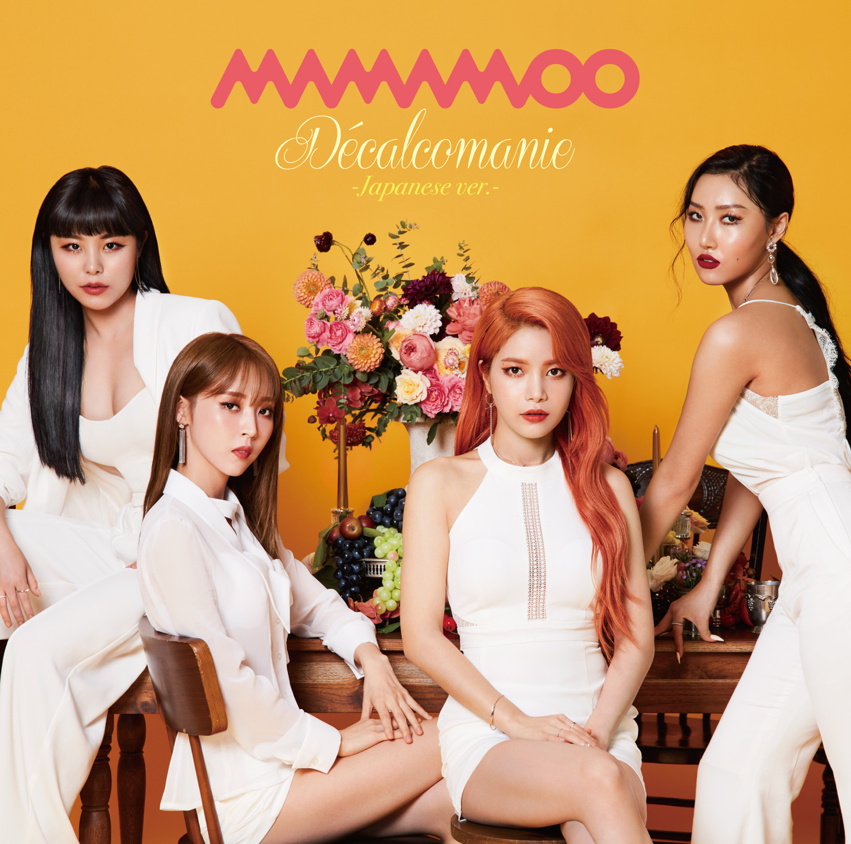 [MAMAMOO] Decalcomanie -Japanese ver.A