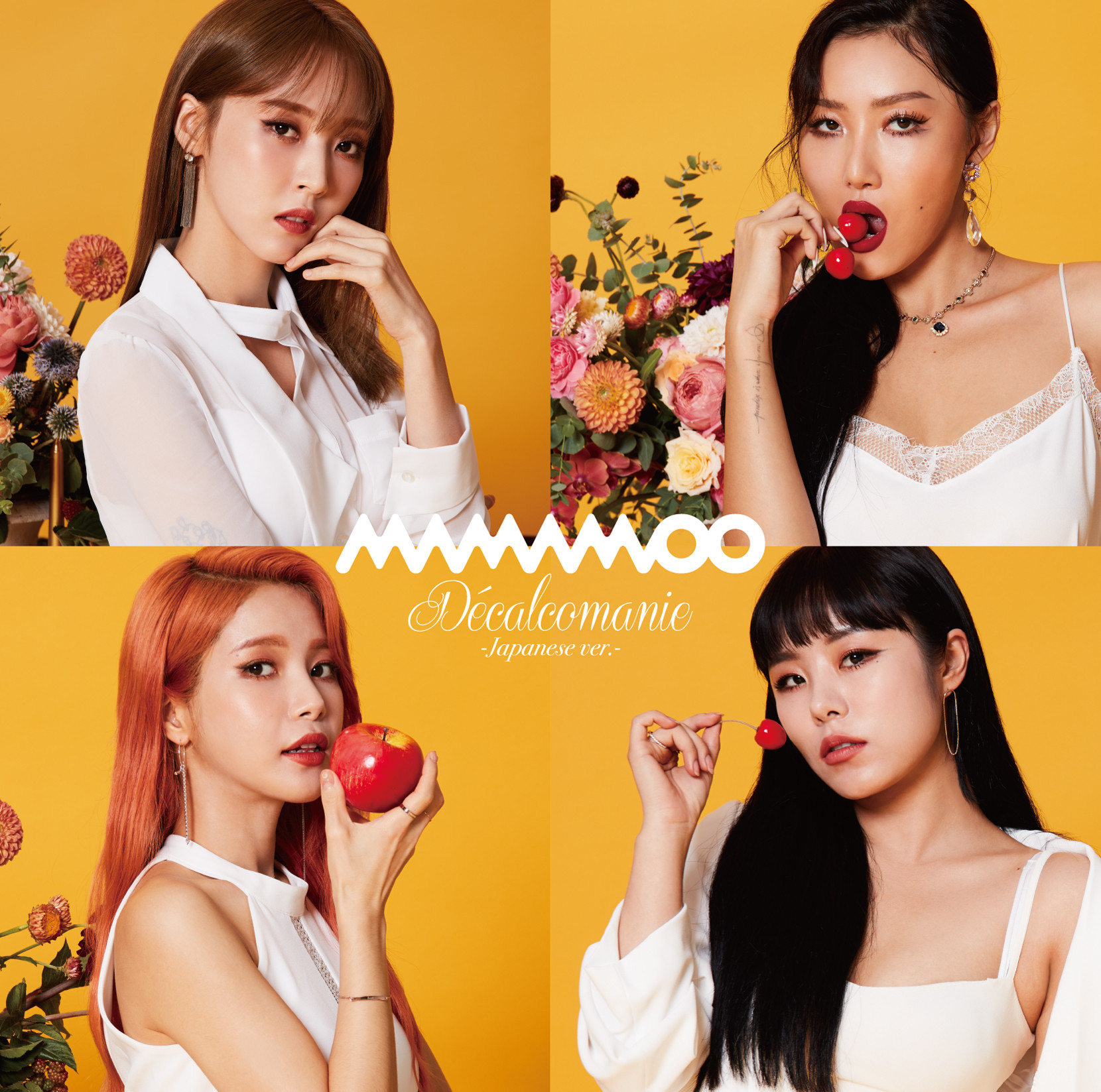 [MAMAMOO] Decalcomanie -Japanese ver.C