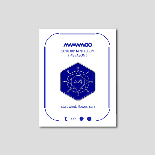 [MAMAMOO] BLUE;S BADGE